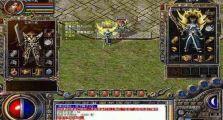 高玩分享传奇游戏私服的战士打boss的技巧