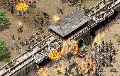 传奇火龙中战士发展需要消耗大量时间和精力 传奇火龙 第1张