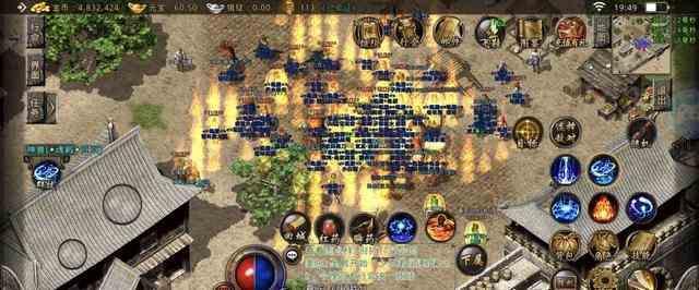 屠龙单职业新开的神殿地图获取高端装备首选 单职业新开 第1张