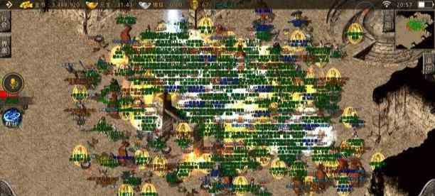 传奇1.76精品版本里战士成功打败王者法师 传奇1.76精品版本 第1张